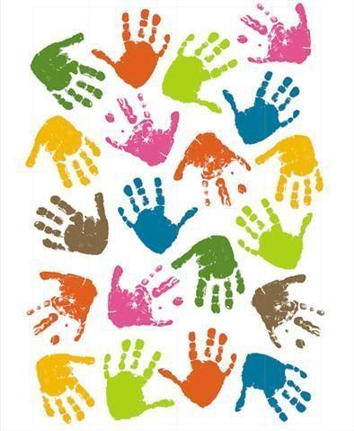 Les explorateurs sensoriels - Dessin main enfant ...